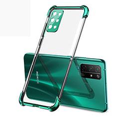 Funda Silicona Ultrafina Carcasa Transparente H01 para Huawei Honor 30S Verde