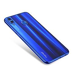 Funda Silicona Ultrafina Carcasa Transparente H01 para Huawei Honor 8X Azul