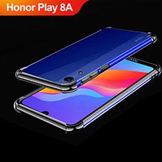 Funda Silicona Ultrafina Carcasa Transparente H01 para Huawei Honor Play 8A Negro