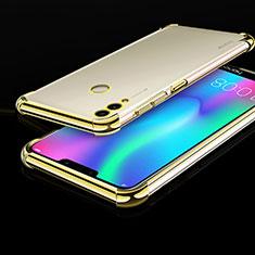 Funda Silicona Ultrafina Carcasa Transparente H01 para Huawei Honor Play 8C Oro