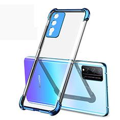 Funda Silicona Ultrafina Carcasa Transparente H01 para Huawei Honor Play4T Pro Azul