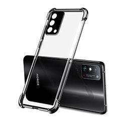 Funda Silicona Ultrafina Carcasa Transparente H01 para Huawei Honor X10 Max 5G Negro