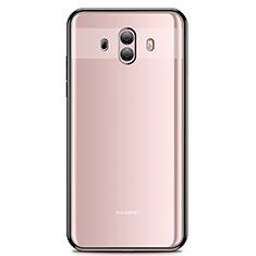 Funda Silicona Ultrafina Carcasa Transparente H01 para Huawei Mate 10 Negro
