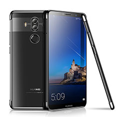 Funda Silicona Ultrafina Carcasa Transparente H01 para Huawei Mate 10 Pro Negro