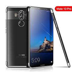 Funda Silicona Ultrafina Carcasa Transparente H01 para Huawei Mate 10 Pro Plata