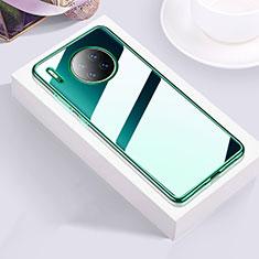 Funda Silicona Ultrafina Carcasa Transparente H01 para Huawei Mate 30 Pro Verde
