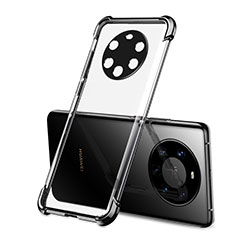 Funda Silicona Ultrafina Carcasa Transparente H01 para Huawei Mate 40 Pro+ Plus Negro