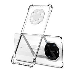 Funda Silicona Ultrafina Carcasa Transparente H01 para Huawei Mate 40 RS Claro