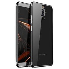 Funda Silicona Ultrafina Carcasa Transparente H01 para Huawei Mate 9 Pro Negro