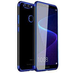 Funda Silicona Ultrafina Carcasa Transparente H01 para Huawei Nova 2 Azul