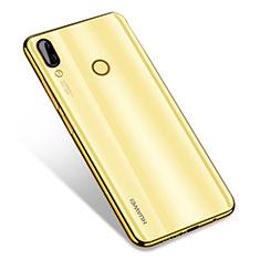 Funda Silicona Ultrafina Carcasa Transparente H01 para Huawei Nova 3 Oro