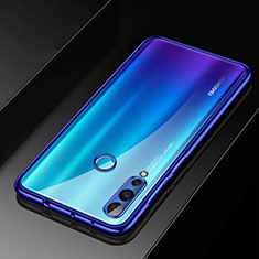 Funda Silicona Ultrafina Carcasa Transparente H01 para Huawei Nova 4 Azul