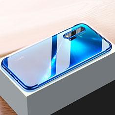 Funda Silicona Ultrafina Carcasa Transparente H01 para Huawei Nova 6 5G Azul