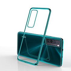Funda Silicona Ultrafina Carcasa Transparente H01 para Huawei Nova 7 5G Verde