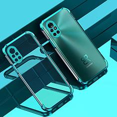 Funda Silicona Ultrafina Carcasa Transparente H01 para Huawei Nova 8 Pro 5G Verde