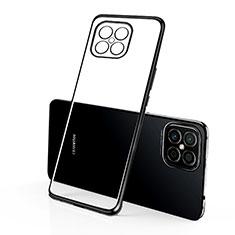 Funda Silicona Ultrafina Carcasa Transparente H01 para Huawei Nova 8 SE 5G Negro