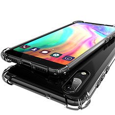 Funda Silicona Ultrafina Carcasa Transparente H01 para Huawei P20 Gris