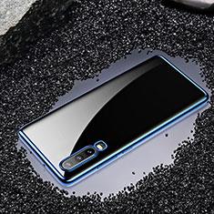 Funda Silicona Ultrafina Carcasa Transparente H01 para Huawei P30 Azul