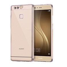 Funda Silicona Ultrafina Carcasa Transparente H01 para Huawei P9 Plus Claro
