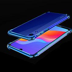 Funda Silicona Ultrafina Carcasa Transparente H01 para Huawei Y6 Prime (2019) Azul