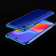 Funda Silicona Ultrafina Carcasa Transparente H01 para Huawei Y6 Pro (2019) Azul