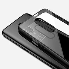 Funda Silicona Ultrafina Carcasa Transparente H01 para OnePlus 7 Pro Negro