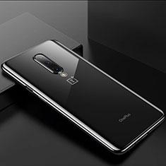 Funda Silicona Ultrafina Carcasa Transparente H01 para OnePlus 8 Negro