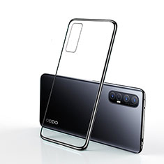 Funda Silicona Ultrafina Carcasa Transparente H01 para Oppo Find X2 Neo Negro