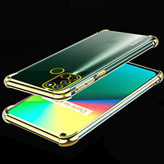Funda Silicona Ultrafina Carcasa Transparente H01 para Realme 7i Oro