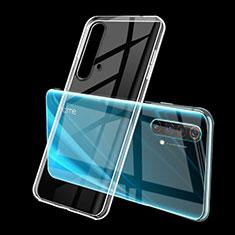 Funda Silicona Ultrafina Carcasa Transparente H01 para Realme X50m 5G Claro