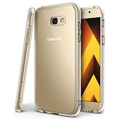 Funda Silicona Ultrafina Carcasa Transparente H01 para Samsung Galaxy A7 (2017) A720F Claro