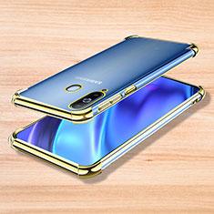 Funda Silicona Ultrafina Carcasa Transparente H01 para Samsung Galaxy A8s SM-G8870 Oro