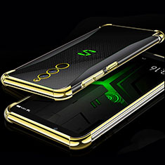 Funda Silicona Ultrafina Carcasa Transparente H01 para Xiaomi Black Shark Helo Oro