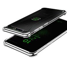 Funda Silicona Ultrafina Carcasa Transparente H01 para Xiaomi Black Shark Plata