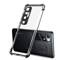 Funda Silicona Ultrafina Carcasa Transparente H01 para Xiaomi Mi 10 Ultra Negro