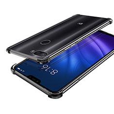 Funda Silicona Ultrafina Carcasa Transparente H01 para Xiaomi Mi 8 Lite Negro