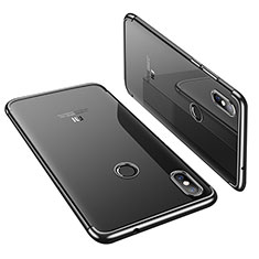 Funda Silicona Ultrafina Carcasa Transparente H01 para Xiaomi Mi 8 Negro
