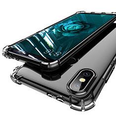 Funda Silicona Ultrafina Carcasa Transparente H01 para Xiaomi Mi A2 Gris
