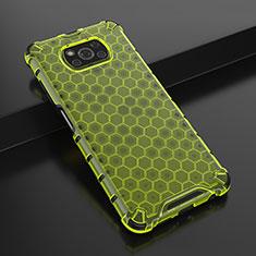 Funda Silicona Ultrafina Carcasa Transparente H01 para Xiaomi Poco X3 NFC Verde