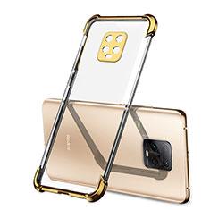 Funda Silicona Ultrafina Carcasa Transparente H01 para Xiaomi Redmi 10X Pro 5G Oro
