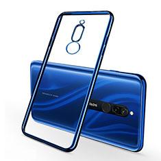 Funda Silicona Ultrafina Carcasa Transparente H01 para Xiaomi Redmi 8 Azul