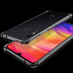Funda Silicona Ultrafina Carcasa Transparente H01 para Xiaomi Redmi Note 7 Negro