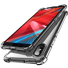 Funda Silicona Ultrafina Carcasa Transparente H01 para Xiaomi Redmi S2 Gris