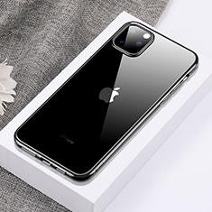 Funda Silicona Ultrafina Carcasa Transparente H02 para Apple iPhone 11 Pro Max Negro