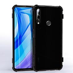 Funda Silicona Ultrafina Carcasa Transparente H02 para Huawei Enjoy 10 Plus Negro