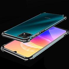 Funda Silicona Ultrafina Carcasa Transparente H02 para Huawei Enjoy 20 5G Negro