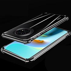 Funda Silicona Ultrafina Carcasa Transparente H02 para Huawei Enjoy 20 Plus 5G Negro