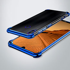 Funda Silicona Ultrafina Carcasa Transparente H02 para Huawei Enjoy Max Azul