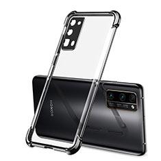 Funda Silicona Ultrafina Carcasa Transparente H02 para Huawei Honor 30 Pro Negro