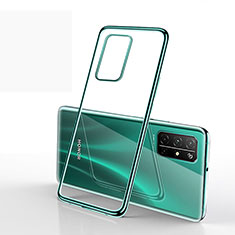 Funda Silicona Ultrafina Carcasa Transparente H02 para Huawei Honor 30S Verde